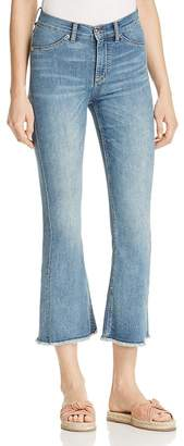 Cheap Monday Kick Spray Jeans in Blue Noise $90 thestylecure.com