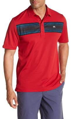Travis Mathew Lee Striped Polo
