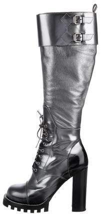 Louis Vuitton Thigh-High Platform Boots