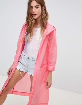 538bb02142f89 Asos Design DESIGN lightweight rain jacket