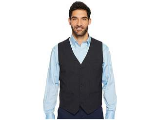 Perry Ellis Slim Fit Subtle Pinstripe Suit Vest Men's Vest