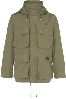 Neighborhood military-style hooded jacket
