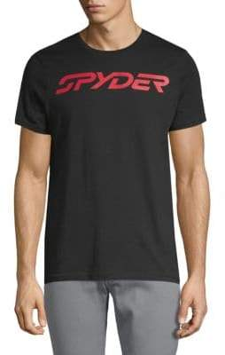 Spyder Logo Graphic Cotton Tee