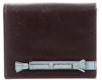 Anya Hindmarch Leather Bifold Wallet
