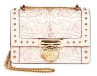 Balmain Floral Cutout Chain Strap Box Bag