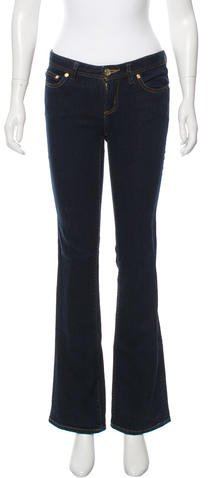 Tory BurchTory Burch Mid-Rise Boot Cut Jeans