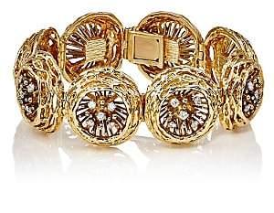Mahnaz Collection Women's Nest Bracelet - Gold