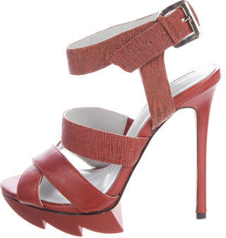 Camilla SkovgaardCamilla Skovgaard Leather Platform Sandals