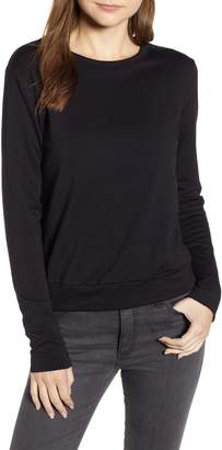 Bailey 44 Bardot Lace-Up Back Sweatshirt