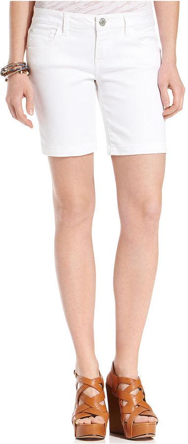 Celebrity Pink Jeans Juniors Shorts, Denim Bermuda