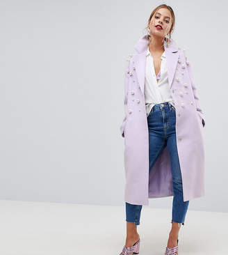 Asos Pearl Soft Coat