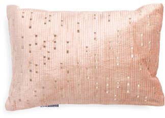 Made In India 14x20 Velvet Luxury Pillow