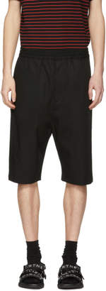 Neil Barrett Black Drop Shorts