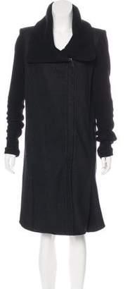 Helmut Lang Wool Structured Coat