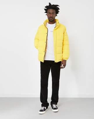 Schott NYC Nebraska Padded Oversize Retro Jacket Yellow