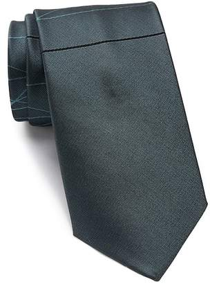Calvin Klein Laser Lines Silk Tie