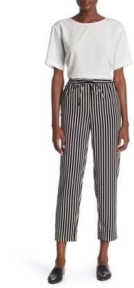14th & Union Weekend Stripe Print Trousers (Regular & Petite)