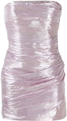 DSQUARED2 strapless drape dress
