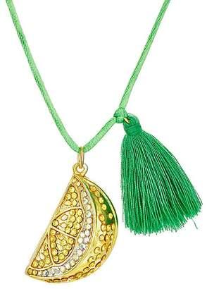Little Lux Lemon Love Charm Necklace