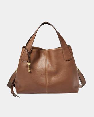 Fossil Maya Brown Satchel Bag