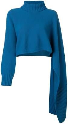 Schumacher Dorothee roll neck sweater scarf