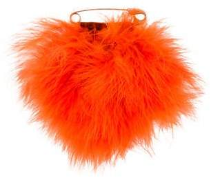 Sonia Rykiel Oversized Feather Brooch