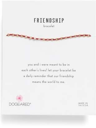 Dogeared (ドギャード) - Dogeared Flat Bead Friendship Bracelet