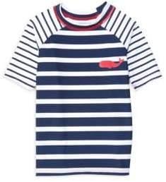 Hatley Little Boy's & Boy's Nautical Stripes Tee