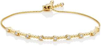Sara Weinstock Women's Isadora Bezel Bolo Bracelet