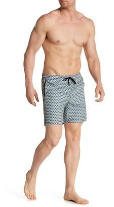Mr.Swim Mr. Swim Tiles Print Board Shorts