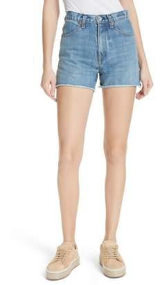 Rag & Bone Torti High Waist Denim Shorts (Vintage)