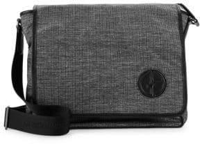 Giorgio Armani Textured Messenger Bag