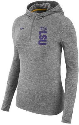 Nike Women's Lsu Tigers Dri-fit Element Hoodie