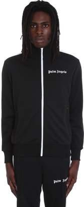 Palm Angels Sweatshirt In Black Polyester
