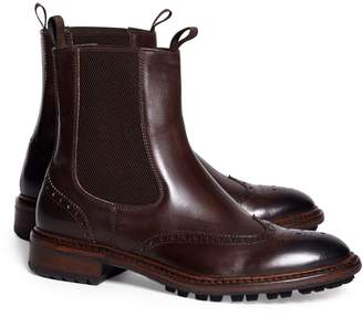 Brooks Brothers Wingtip Lug Sole Chelsea Boot