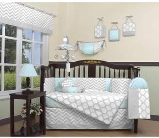 Geenny Chevron 13 Piece Crib Bedding Set