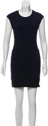 RVN Textured Patterned Dress