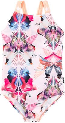 Molo digital-print swimsuit