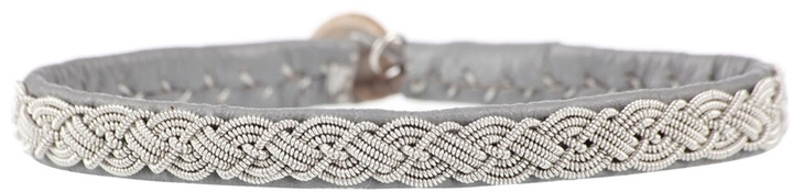 MARIA RUDMAN - Scallop chain braid bracelet
