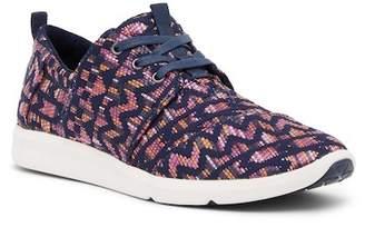 Toms Del Rey Geometric Pattern Sneaker