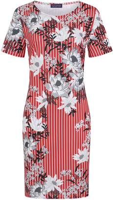 Next Womens HotSquash Striped Rivera Short-Sleeved Print Shift Dress