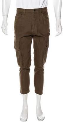 Helmut Lang Skinny Cropped Cargo Pants