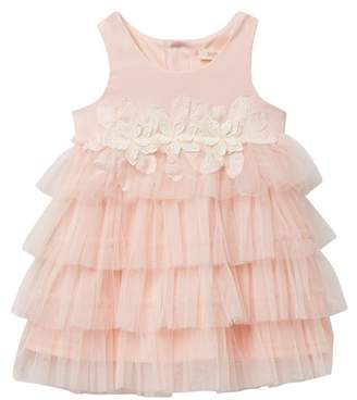 Baby Sara Empire Tulle Tiered Dress (Baby, Toddler, & Little Girls)