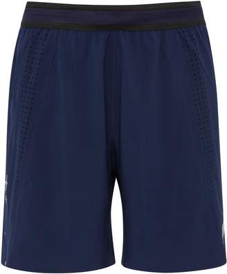 Soar Running Mesh-Paneled Stretch-Shell Shorts