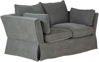 OKA Aubourn 2-Seater Sofa Cover - Charcoal