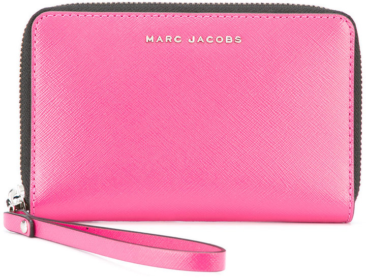 Marc Jacobs Marc Jacobs two-tone metallic wallet