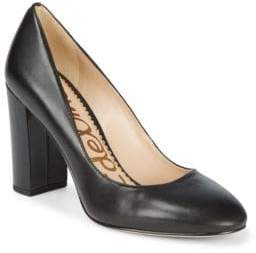 628b447ee582 Sam Edelman Stillson Leather Block Heel Pumps