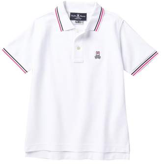 Psycho Bunny Striped Trim Bunny Polo (Toddler, Little Boys, & Big Boys)