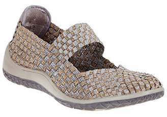 Zee Alexis Women's Sammi Woven Mary Jane Shoe