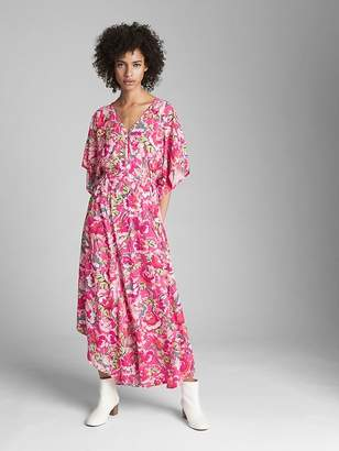 Gap Kimono Sleeve Maxi Dress
